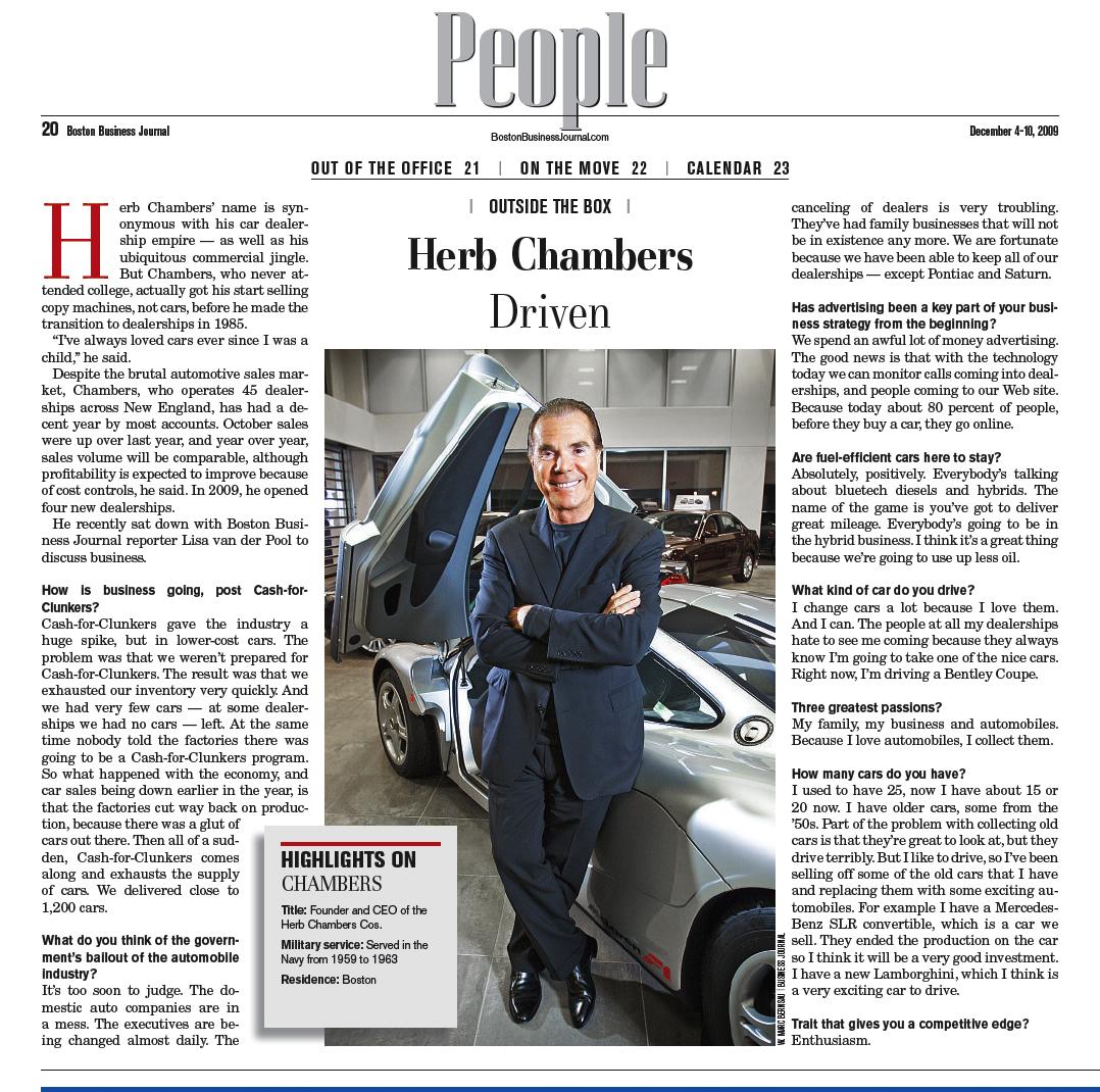 Herb Chambers Blog